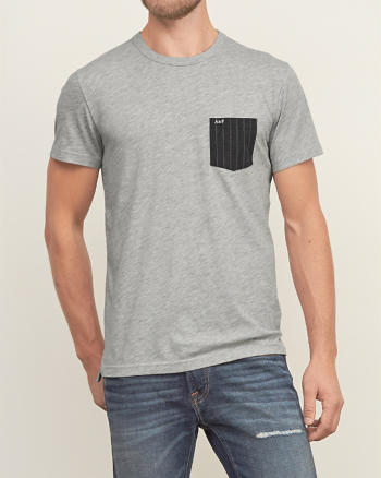 ANF Contrast Pocket Tee