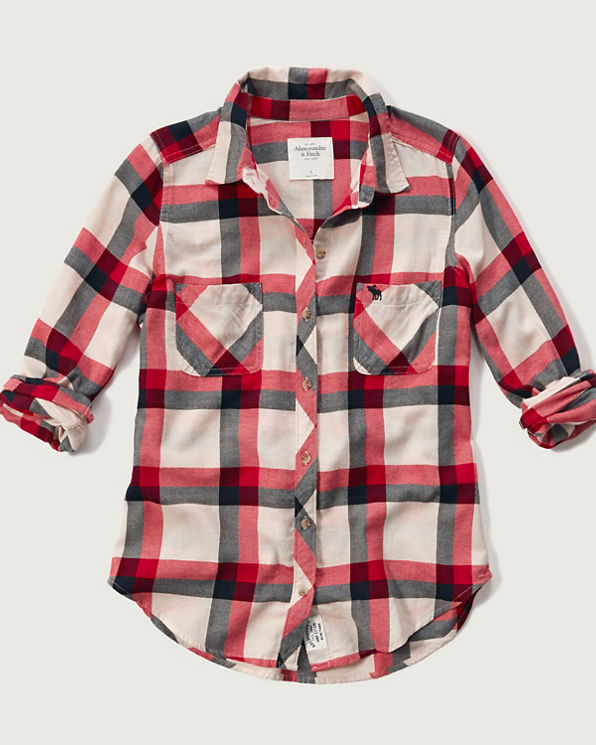 Flannel Plaid Shirts For Sale