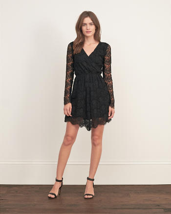 ANF Collection Lace Skater Dress