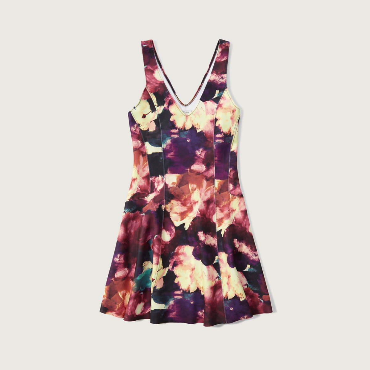 Floral Neoprene Dress