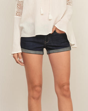 ANF Low Rise 2 Inch Denim Shorts