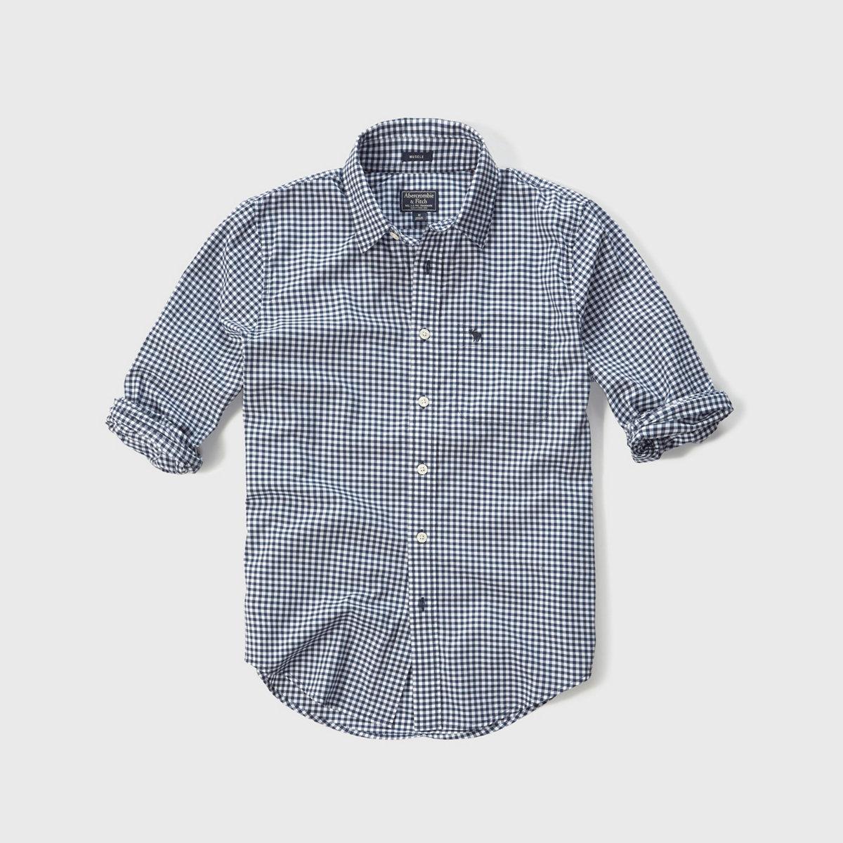 Check Poplin Shirt