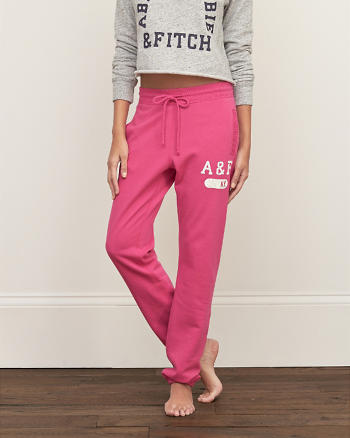 ANF A&F Banded Fleece Sweatpants