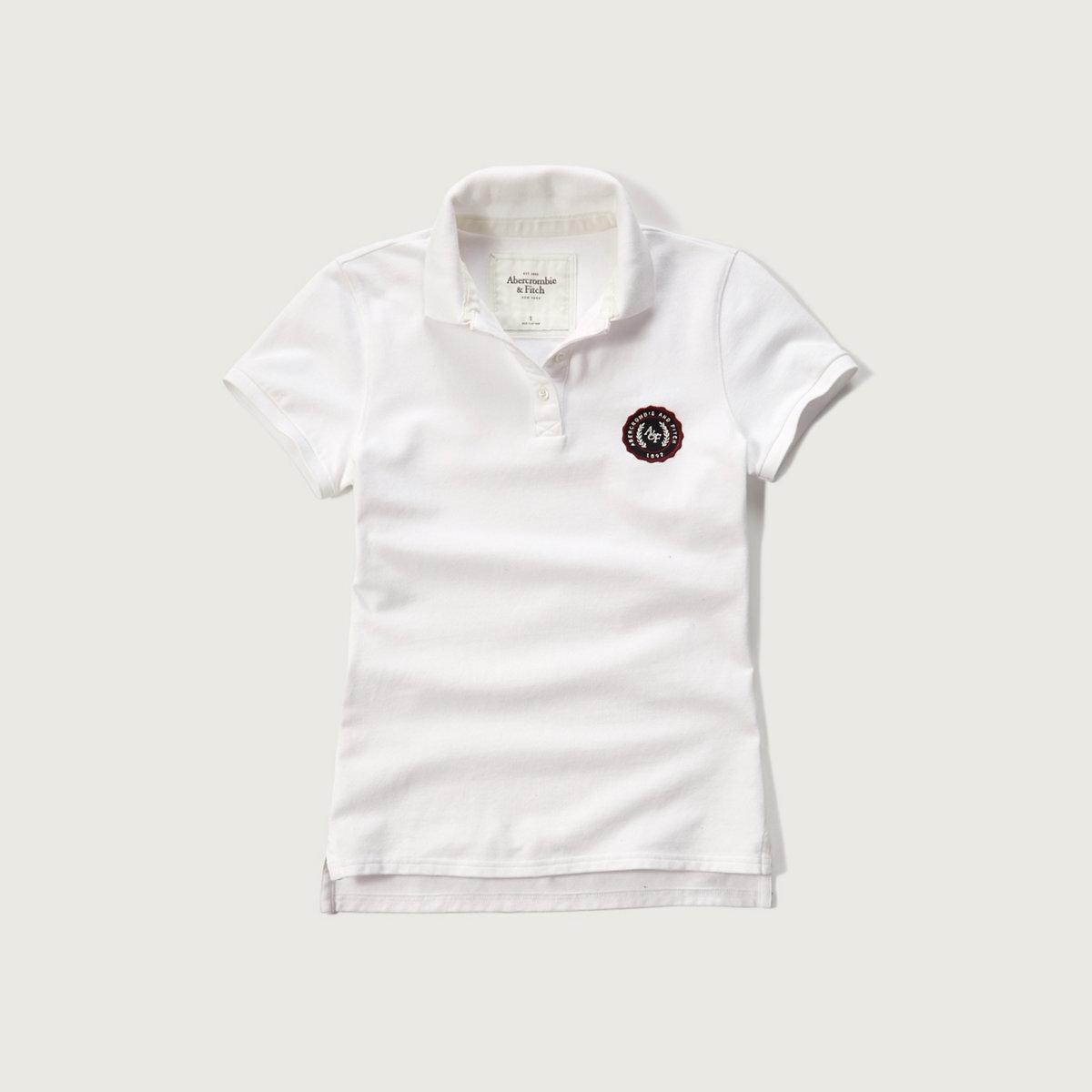 Embroidered Logo Slim Polo