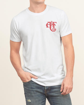 Mens Camp Logo Graphic Tee