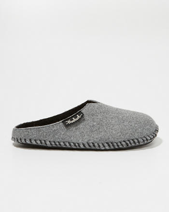 ANF Woolrich Felt Mill Scuff Slippers
