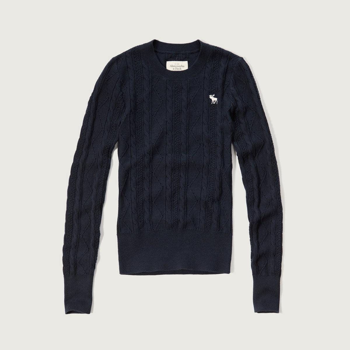 Slim Crew Neck Sweater