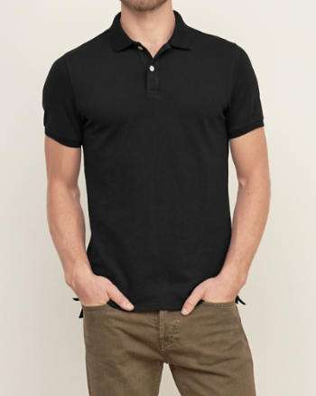 Mens Muscle Fit Polo