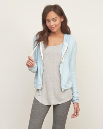 Womens Iconic Full-zip hoodie