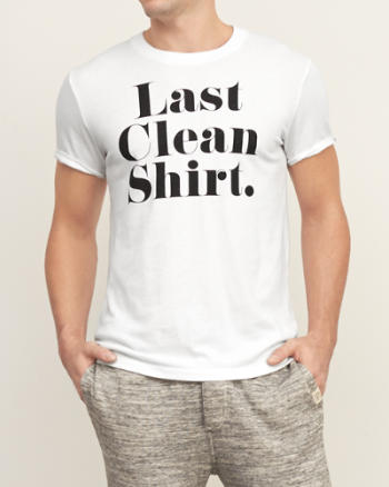 Mens Last Clean Graphic Tee