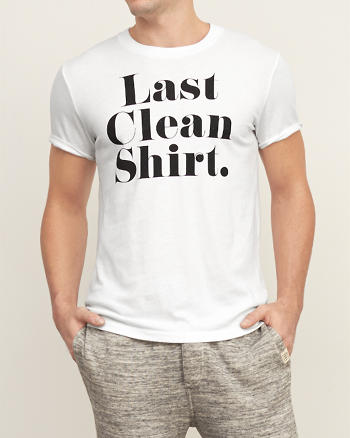 ANF Last Clean Graphic Tee