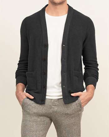 ANF Button-down Fleece Cardigan
