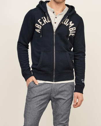 Abercrombie Pullover Grau