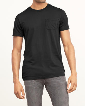 Mens Muscle Fit Crew Tee