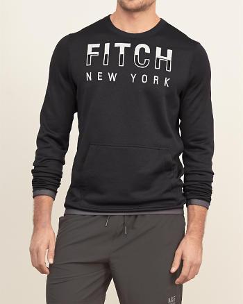 ANF Logo Graphic Athletic Sweatshirt