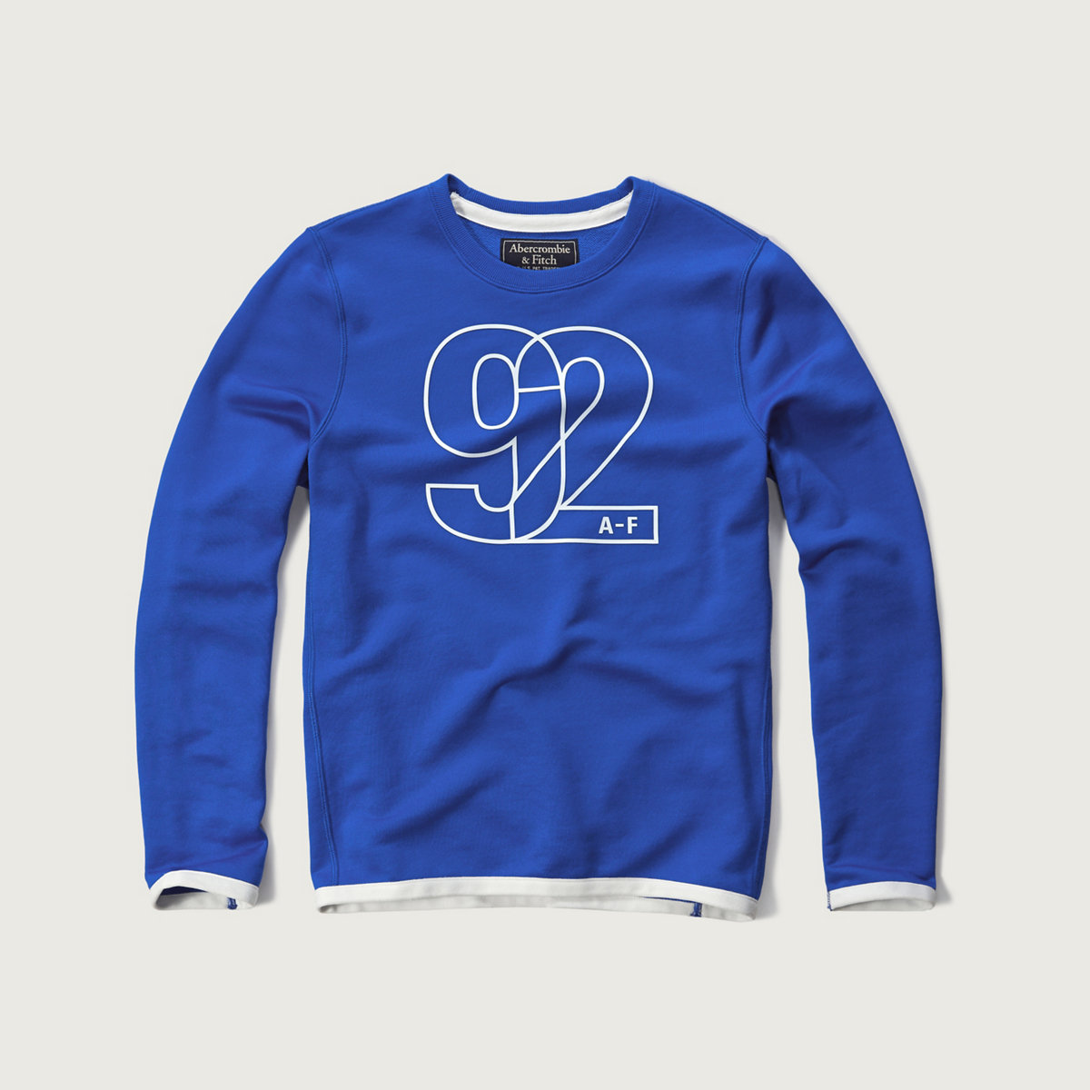 Logo Graphic Athletic Sweatshirt