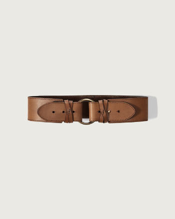Womens Genuine Leather Belt