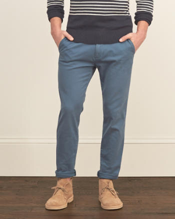 Mens Super Skinny Chinos