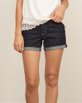 Womens Low Rise 4 Inch Shorts