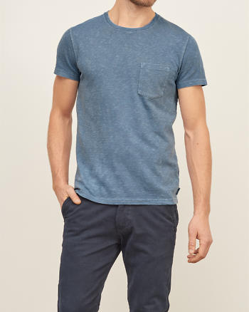 ANF A&F True Garment Dyed Tee
