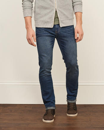 ANF Skinny Lightweight Stretch Jeans