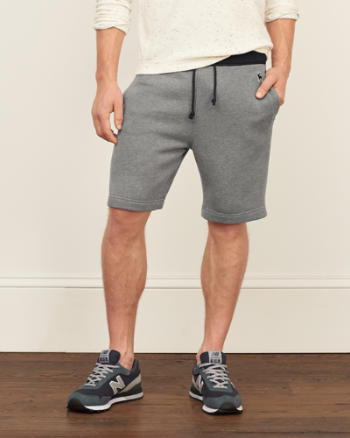 Mens Logo Fleece Shorts