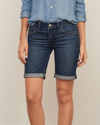 ANF Low Rise Denim BoyShorts