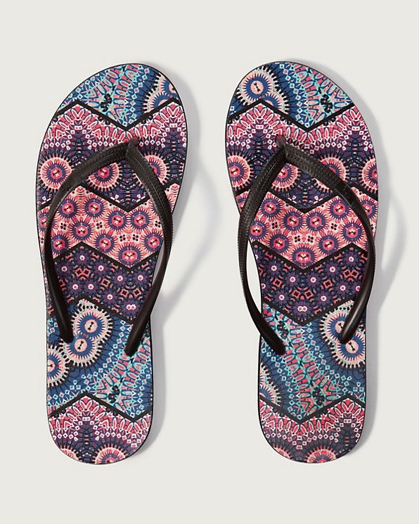 Rubber Flip Flops Womens