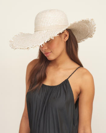 Womens Straw Sun Hat