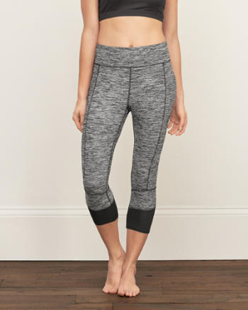 Womens A&F Active Crop Leggings