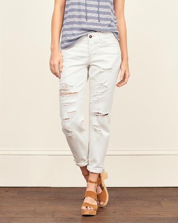 ANF Straight Boyfriend Jeans