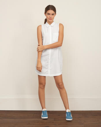 Womens Oxford Shirt Dress