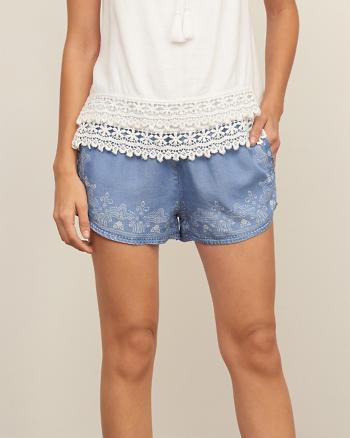 ANF Stencil Border Soft Shorts