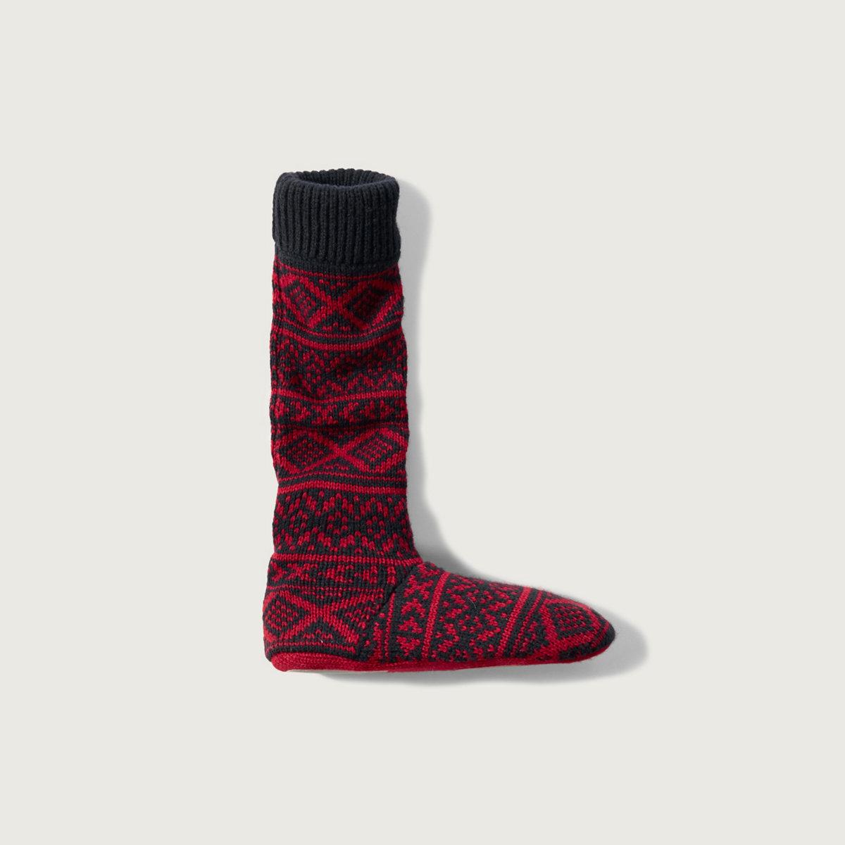 Patterned Slipper Socks