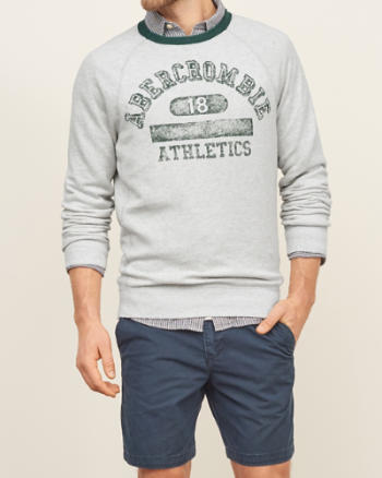 Mens Logo Graphic Sweatshirt