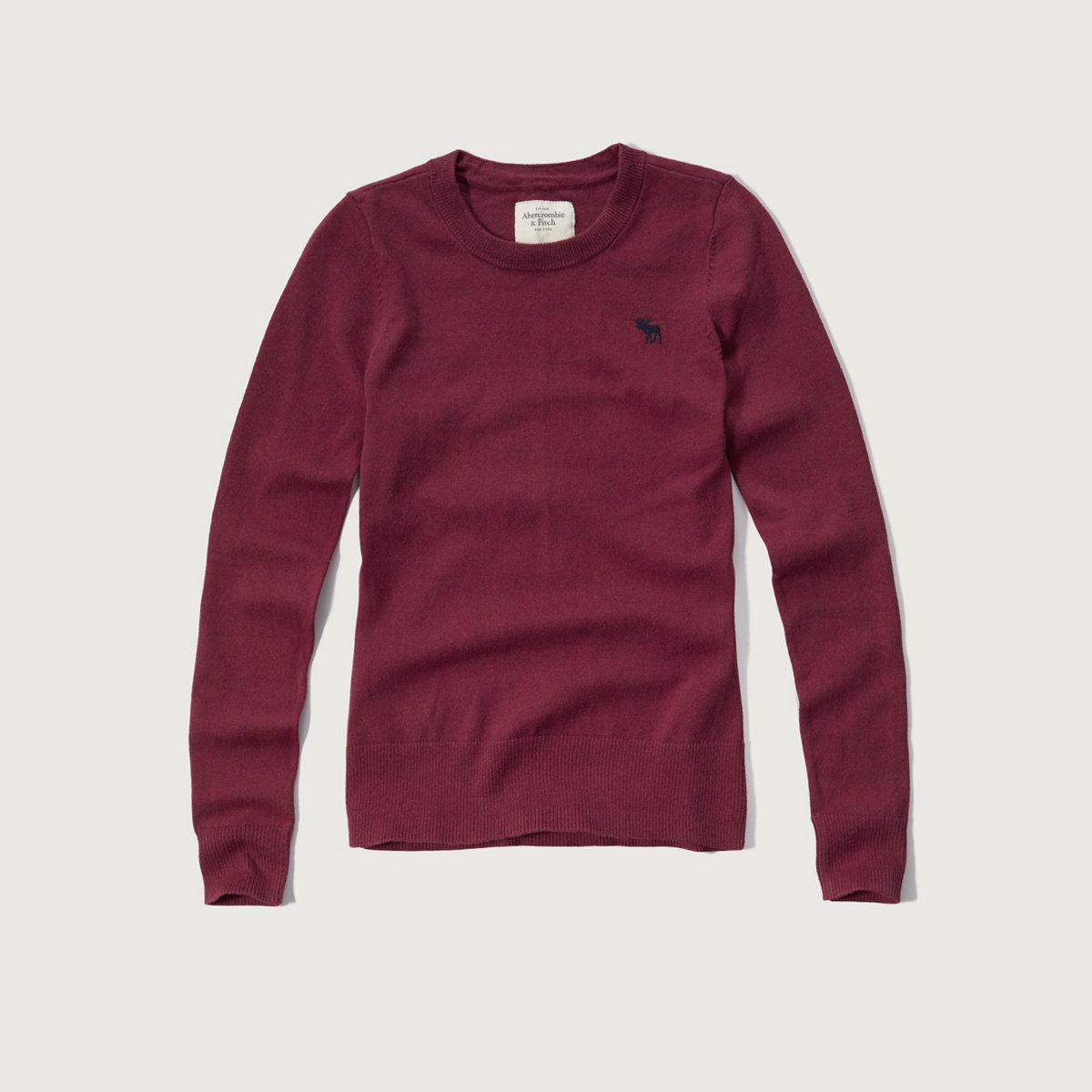 Iconic Crew Sweater