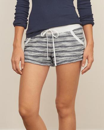 ANF Logo Fleece Soft Shorts