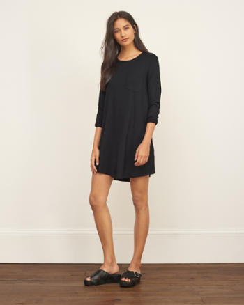 Womens Knit Swing Dress