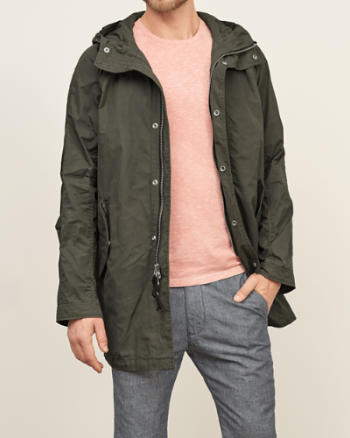 Mens Regimen Shell Parka