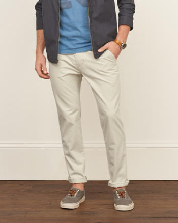 Mens Classic Taper Chino Pants