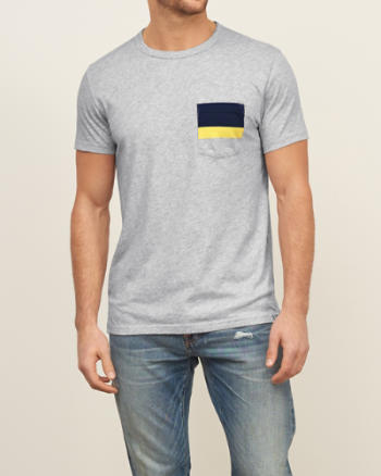 Mens Nautical Crewneck Tee