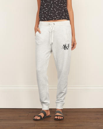 ANF A&F Logo Graphic Joggers