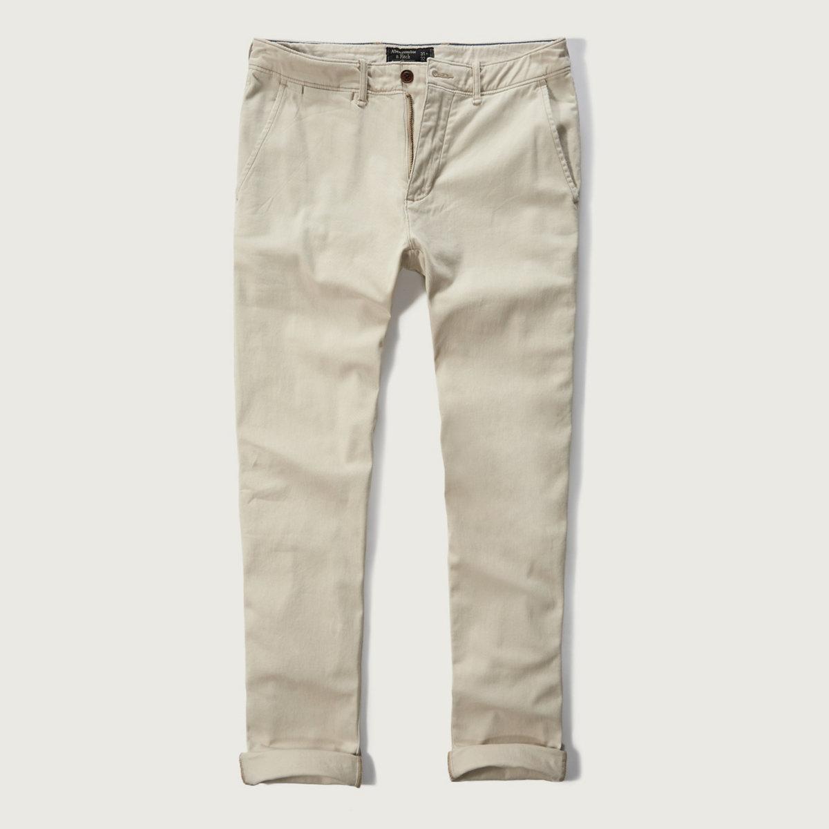 Skinny Chino Pants