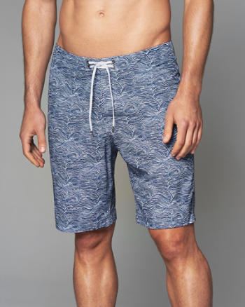 "ANF 9"" Board Fit Swim Shorts"