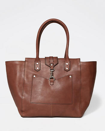 ANF The City Carryall Genuine Leather Bag