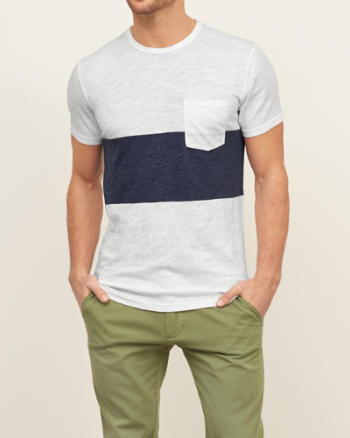 ANF Nautical Stripe Tee