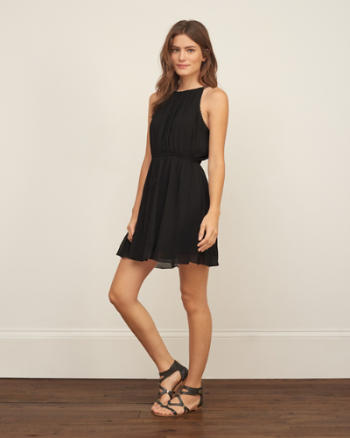 ANF Chiffon Skater Dress