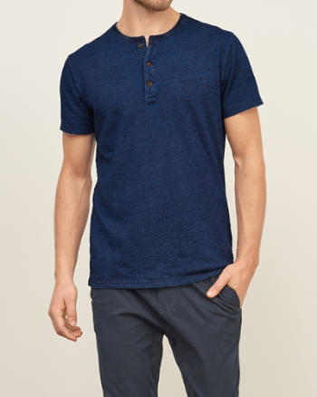 Mens Signature Henley