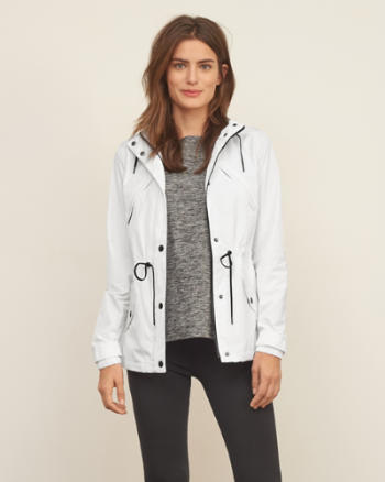 Womens The A&F Active Anorak