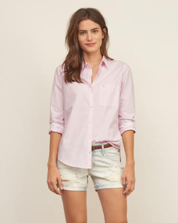 Womens Classic Oxford shirt